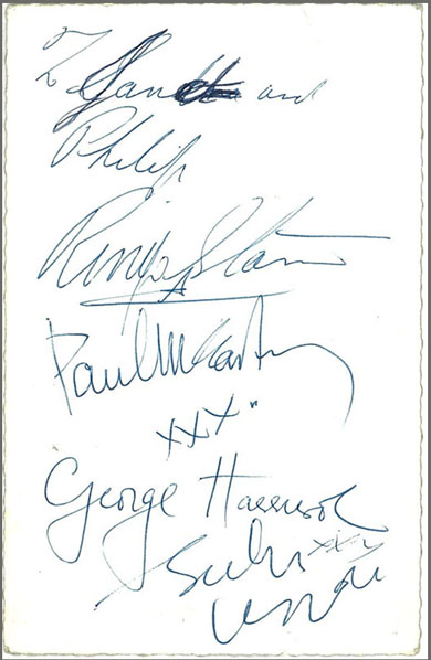 sign beatles.promo1