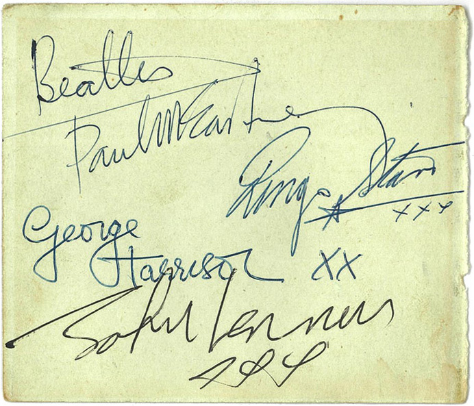 sign beatles63